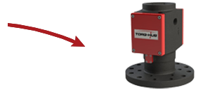 TORQ-HUB  Mounts directly to the output shaft of the drive head